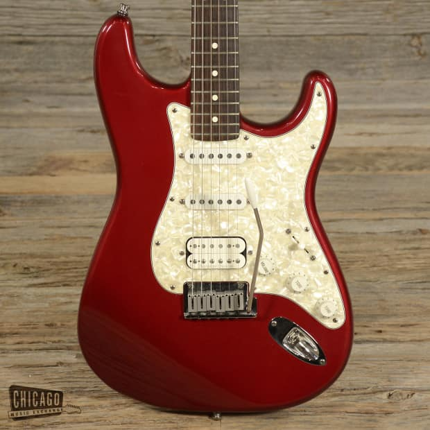 fender lone star stratocaster candy apple red 1998 s357 reverb. Black Bedroom Furniture Sets. Home Design Ideas