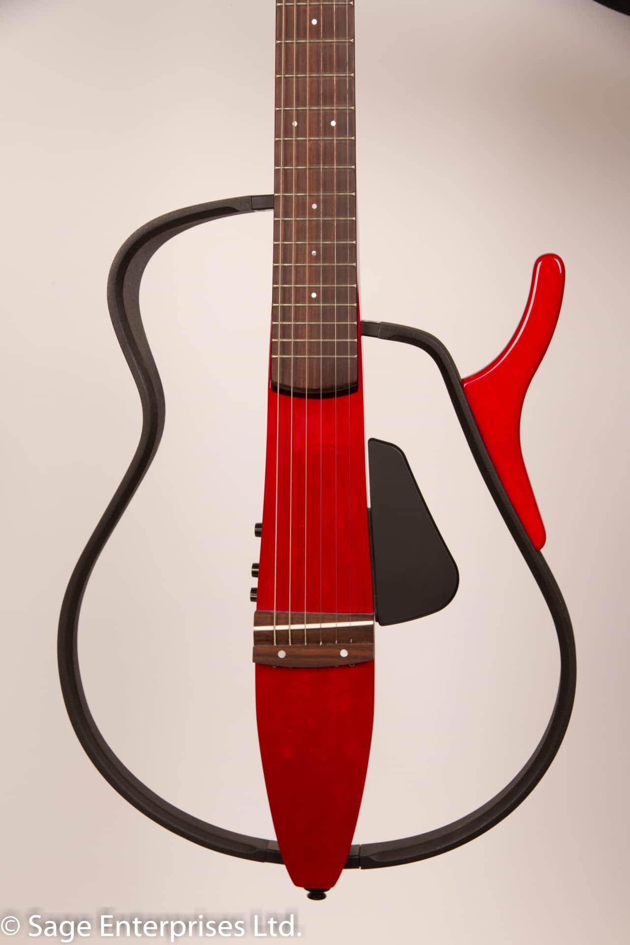 yamaha slg100s silent guitar unique wine red reverb. Black Bedroom Furniture Sets. Home Design Ideas