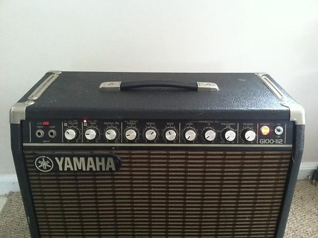 Yamaha g100 112 guitar amp reverb for Yamaha thr10x specs
