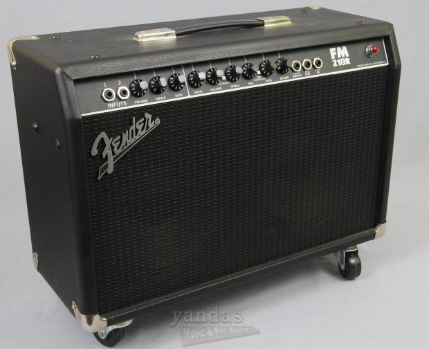 used fender fm210r electric guitar amplifier reverb. Black Bedroom Furniture Sets. Home Design Ideas
