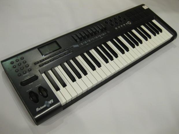m audio axiom 49 usb midi controller keyboard reverb