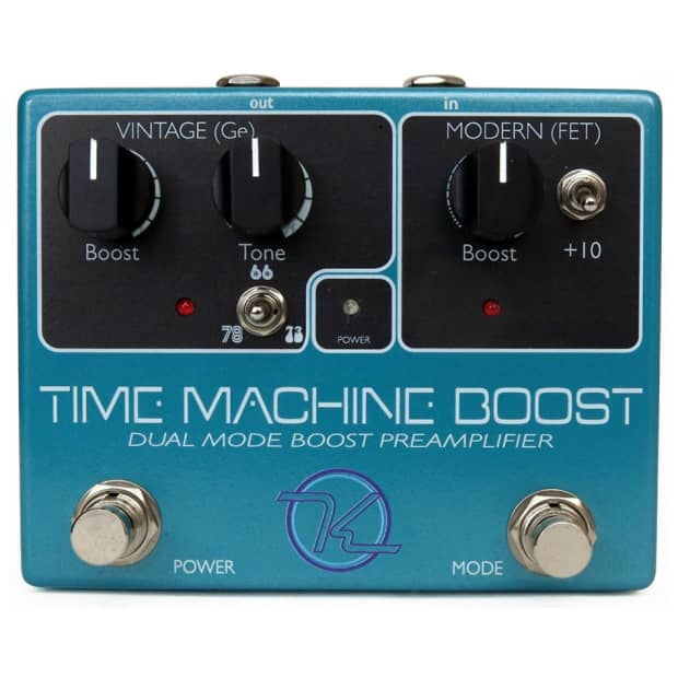 KEELEY Time Machine Boost Guitar Effects Pedal DEMO