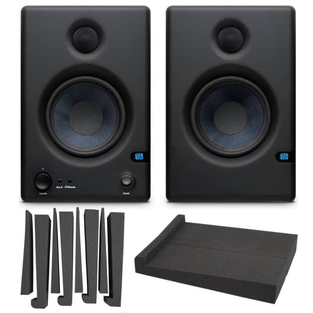 presonus eris e4 5 monitors set of 2 with lyxpro mns 4 reverb. Black Bedroom Furniture Sets. Home Design Ideas