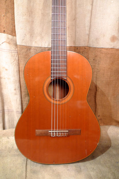 Southside Auto Sales >> Guild MKII 1974 Natural Nylon-Classical Guitar | Reverb