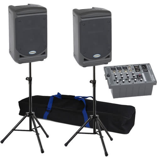 Samson Expedition XP150 Speaker & Mixer Sound System ...