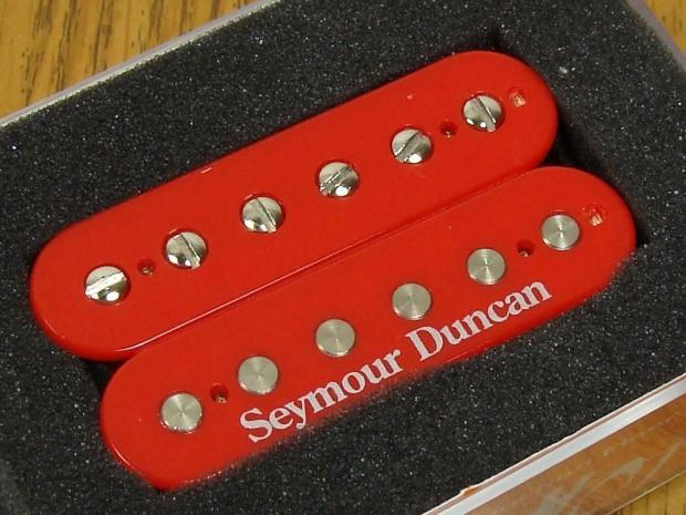 new usa seymour duncan sh 2n jazz model humbucker pickup neck red custom guitar reverb. Black Bedroom Furniture Sets. Home Design Ideas