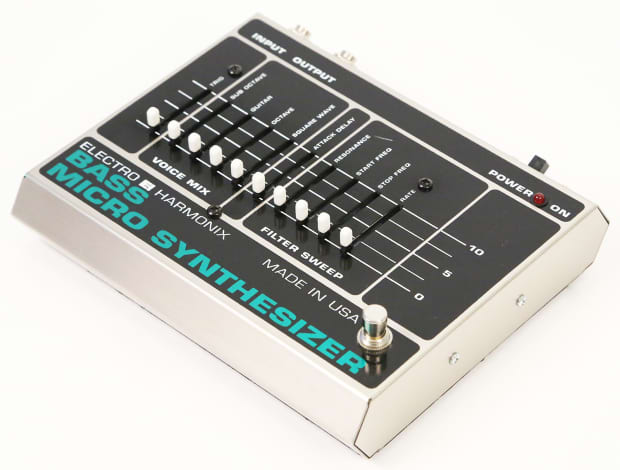 electro harmonix bass micro synth pedal super clean reissue reverb. Black Bedroom Furniture Sets. Home Design Ideas