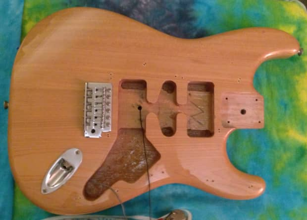 Squier Affinity Strat Body Natural Blonde Alder Thick Like