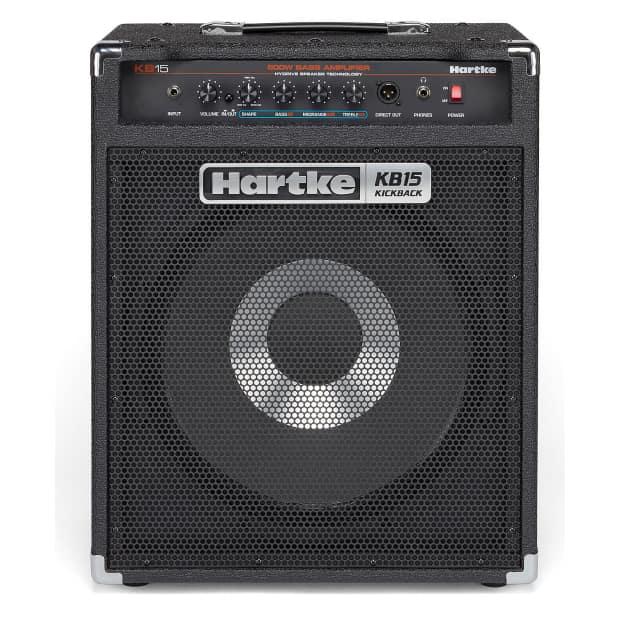 hartke kb15 kickback 500w 1x15 bass combo amp reverb. Black Bedroom Furniture Sets. Home Design Ideas