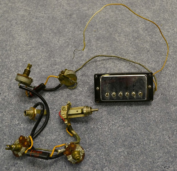 Vintage gibson es wiring harness reverb