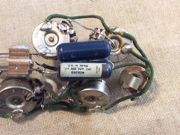 rickenbacker model 450 wiring harness 1965 1966 reverb