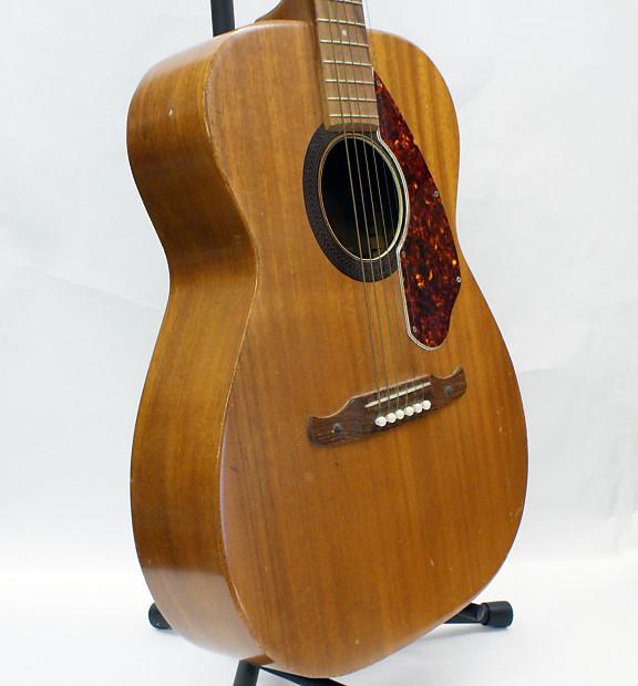 vintage 1970 fender h 165 acoustic guitar made by harmony in reverb. Black Bedroom Furniture Sets. Home Design Ideas