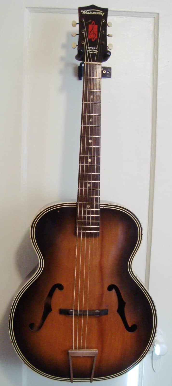 1961 harmony h1213 archtop guitar reverb. Black Bedroom Furniture Sets. Home Design Ideas