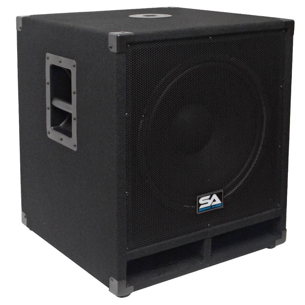 15 Quot Pro Audio Subwoofer Cabinet Pa Dj Pro Audio Band