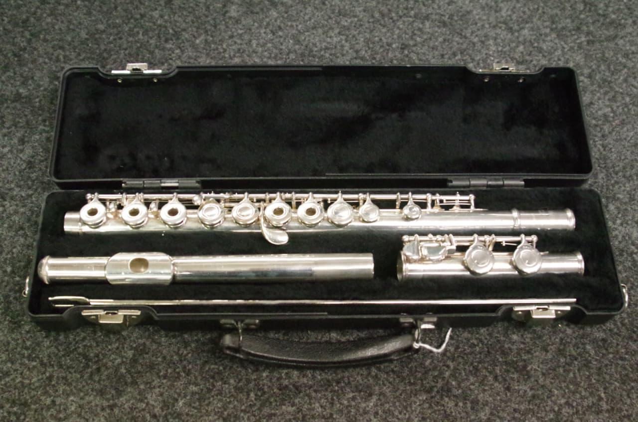 Yamaha 285sii open hole flute reverb for Yamaha flute 222