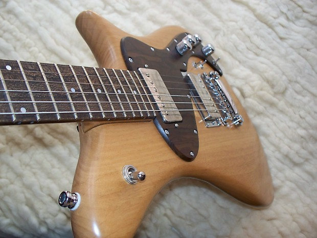 becker guitar custom handmade electric guitar 2010 natural reverb. Black Bedroom Furniture Sets. Home Design Ideas