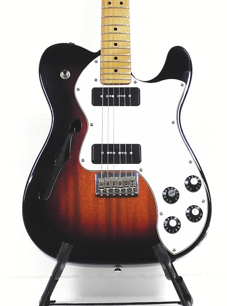 fender telecaster modern player thinline deluxe special reverb