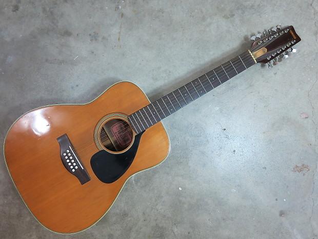 Yamaha Fg Red Label Nippon Gakki Acoustic Guitar