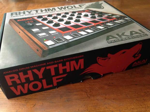 akai rhythm wolf analog drum machine and bass synth reverb. Black Bedroom Furniture Sets. Home Design Ideas