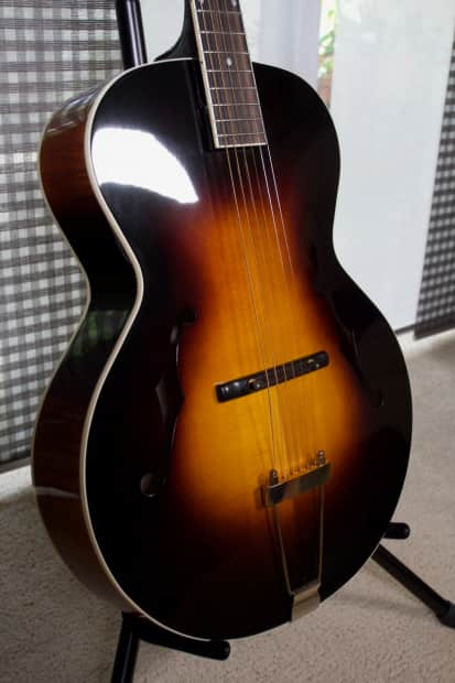 the loar lh 700 vs hand carved archtop acoustic guitar with reverb. Black Bedroom Furniture Sets. Home Design Ideas
