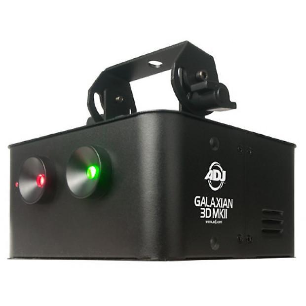 American DJ Galaxian 3D MKII Green & Red 3D Solar System ...