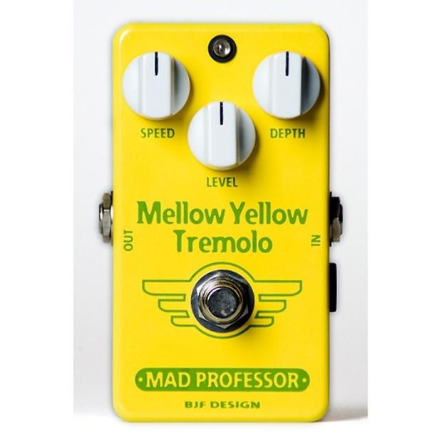 Mad professor mellow yellow tremolo pcb reverb - Mellow yellow boutique ...