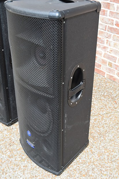 mackie sr 1530 powered 3 way pa speakers excellent used reverb. Black Bedroom Furniture Sets. Home Design Ideas