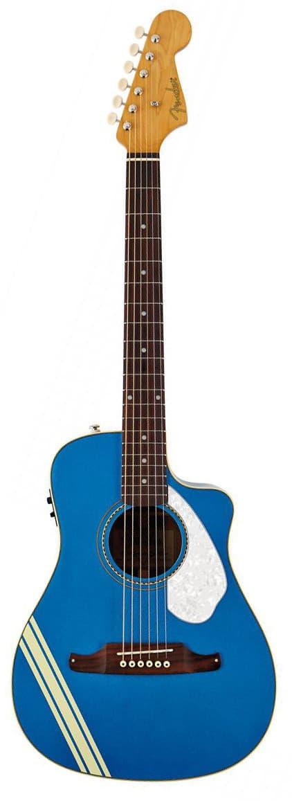 clearance fender malibu ce mustang acoustic electric guitar reverb. Black Bedroom Furniture Sets. Home Design Ideas