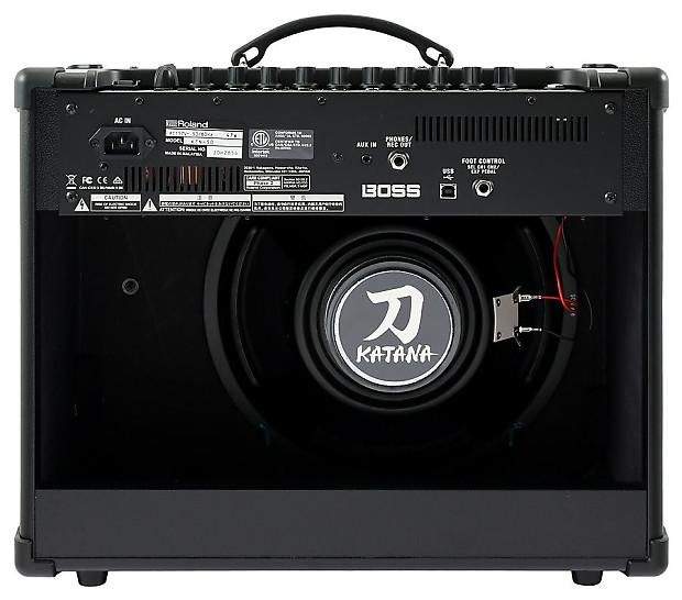 Boss Katana 50 Combo Guitar Amplifier Reverb