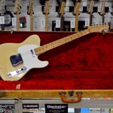 Original Fender Telecaster 1956 Blonde lacquer image