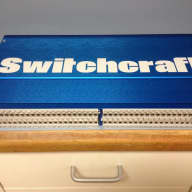Switchcraft   StudioPatch® 9625 2014 Blue