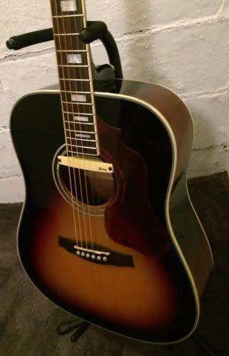 ibanez sge220 vs sage dreadnought acoustic electric guitar vintage sunburst reverb. Black Bedroom Furniture Sets. Home Design Ideas