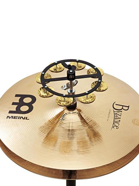 meinl headliner series single row hi hat tambourine hammered brass hthh1b bk reverb. Black Bedroom Furniture Sets. Home Design Ideas