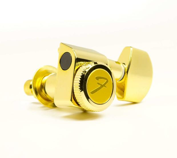 genuine fender 099 0818 200 gold locking tuners upgrade for reverb. Black Bedroom Furniture Sets. Home Design Ideas