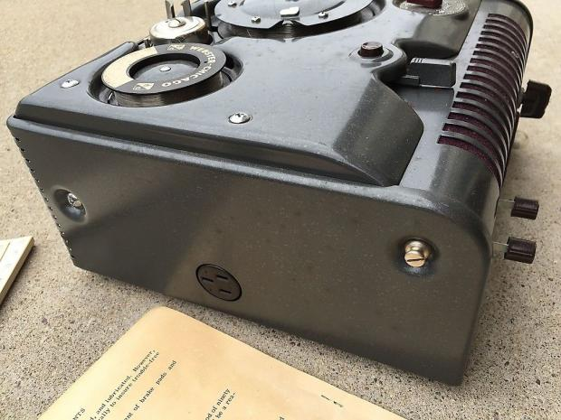 Webster Auto Sales >> Webster Chicago vintage wire recorder w/ microphone and ...
