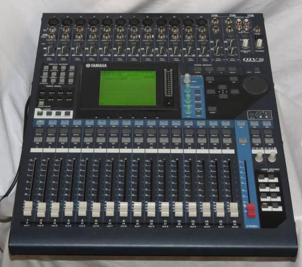 yamaha 01v96 ver 2 digital mixer with my8 adda96 card 24 reverb. Black Bedroom Furniture Sets. Home Design Ideas