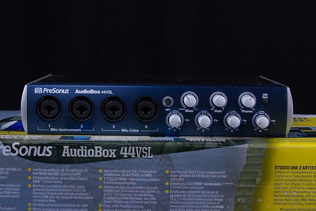 presonus audiobox 44vsl manual pdf