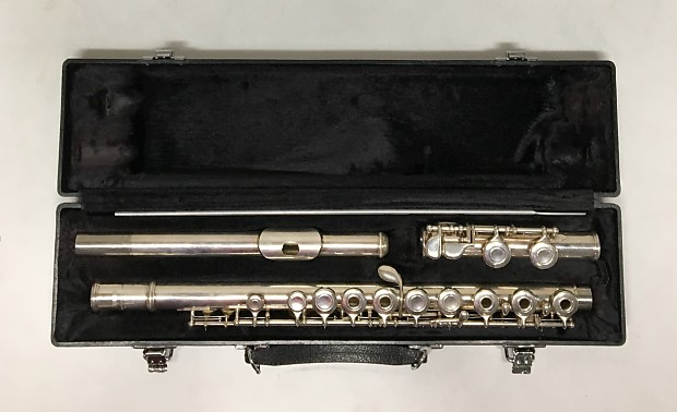 Yamaha 285sii flute silver plated open hole new for Piccolo prices yamaha