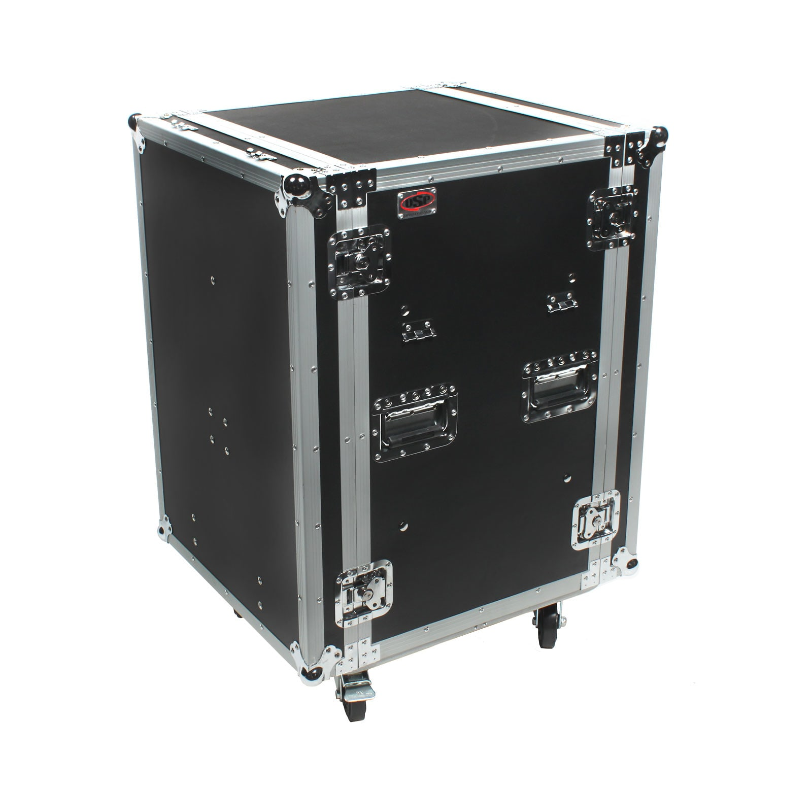 OSP SC16U-20SL 16 Space ATA Amp Rack w/Casters & Standing Lid Table