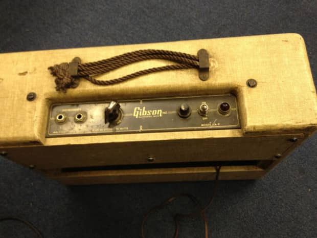 Michaels Auto Sales >> Gibson GA-9 Tube Guitar Amp Vintage   Reverb