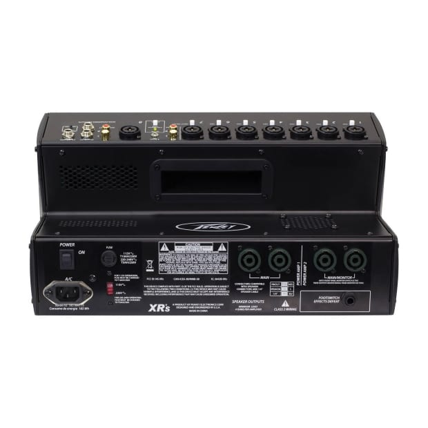 Peavey Xr S Powered Mixer 1000 Watts 8 Channel Mixer Reverb