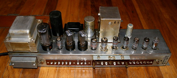 vintage hammond ao 29 6v6 12ax7 tube diy clone guitar amp reverb. Black Bedroom Furniture Sets. Home Design Ideas