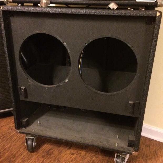 peavey model 212 guitar enclosure 2x12 guitar cabinet unloaded empty vintage usa made reverb. Black Bedroom Furniture Sets. Home Design Ideas