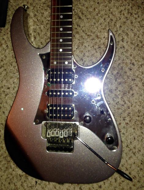 2001 ibanez rg 450 electric guitar made in japan case reverb. Black Bedroom Furniture Sets. Home Design Ideas