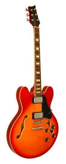kona guitars memphis style double cutaway semi hollow jazz reverb. Black Bedroom Furniture Sets. Home Design Ideas