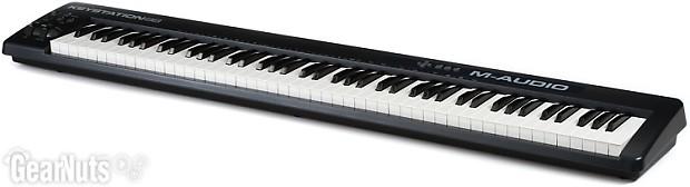 m audio keystation 88 88 key midi controller reverb. Black Bedroom Furniture Sets. Home Design Ideas