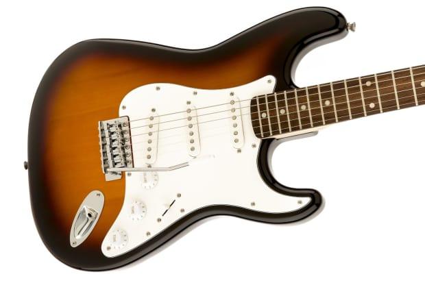 fender strat pack w squier affinity guitar frontman 10g amp reverb. Black Bedroom Furniture Sets. Home Design Ideas