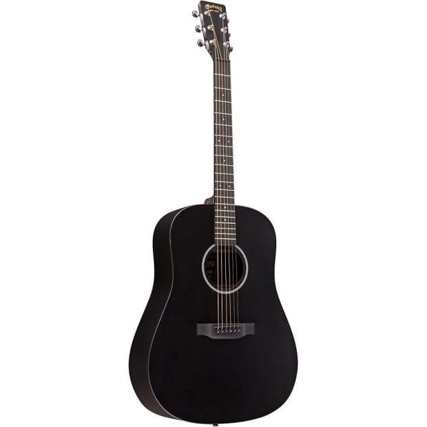 martin x series dxae black acoustic electric guitar w free reverb. Black Bedroom Furniture Sets. Home Design Ideas