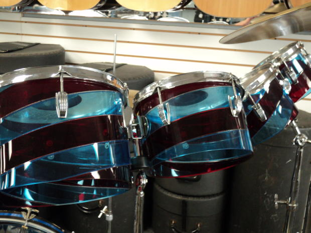 Ludwig 1970 S Vintage 12 Pc Vistalite Octoplus Candy