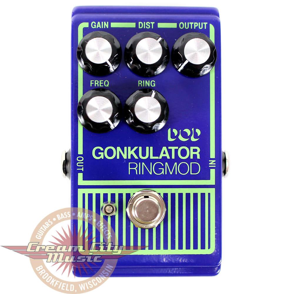 Brand New DOD Gonkulator Ring Modulator Guitar Pedal
